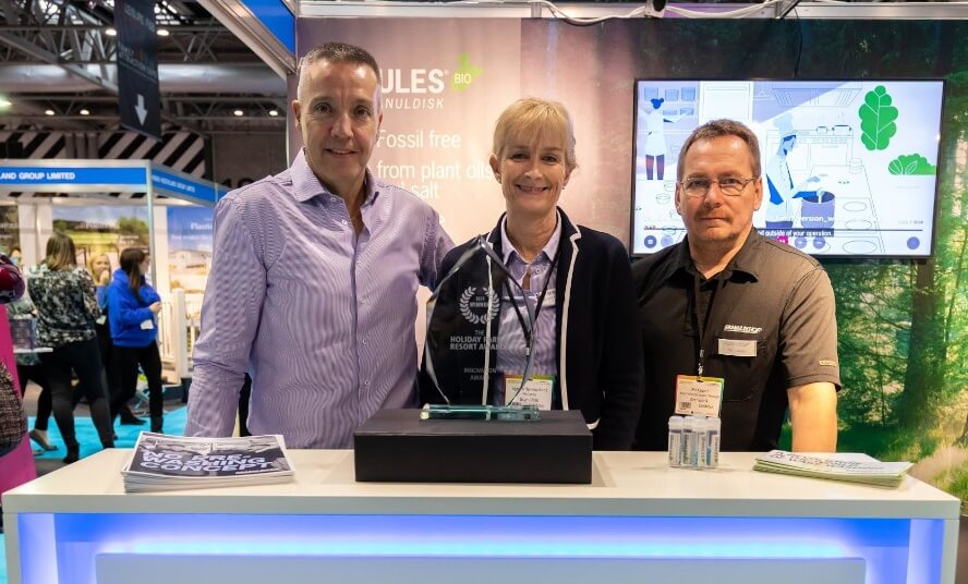 Granduldisk AB is innovation award winner at the Holiday Park & Resort Innovation Show