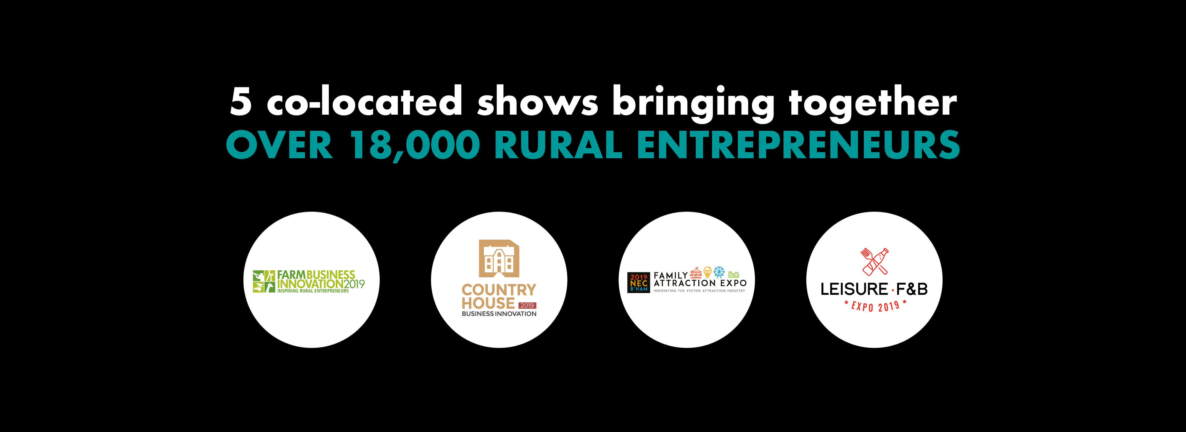 The Holiday Park & Resort Innovation Show attended by over 18,000 rural entrepreneurs!