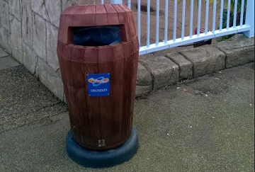 The Holiday Park & Resort Innovation Show : A Litter Bin like No Other